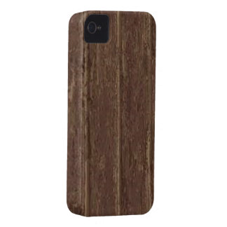 Brown Clapboard iPhone 4 Cover