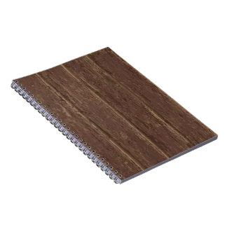 Brown Clapboard Spiral Notebook