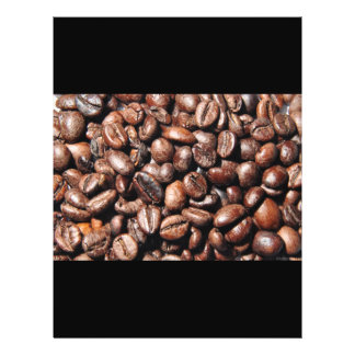 BROWN COFFEE BEANS PHOTOGRAPHY BACKGROUNDS FOODS PERSONALIZED FLYER