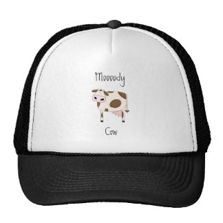 Brown Cow Mesh Hat