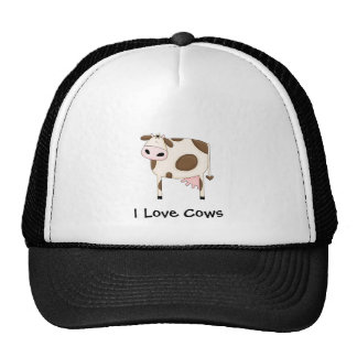 Brown Cow Hats