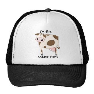 Brown Cow Trucker Hat