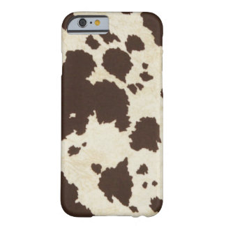 Brown Cow Print IPhone 6 Case