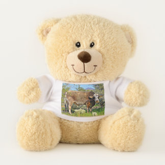 Brown Cow Teddy Bear