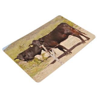 Brown Cows Floor/ Door Mat