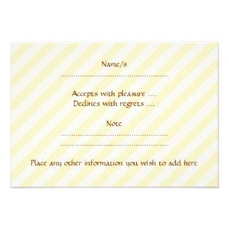 Brown Cupcake Personalized Invite