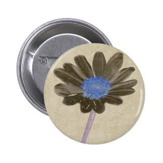 Brown Daisy Button