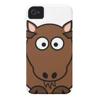 Brown Deer Cartoon iPhone 4 Cover