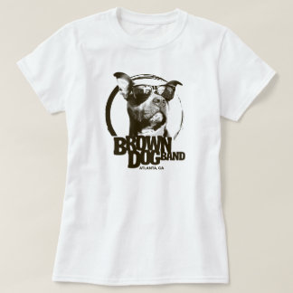 Brown Dog Band logo T-Shirt