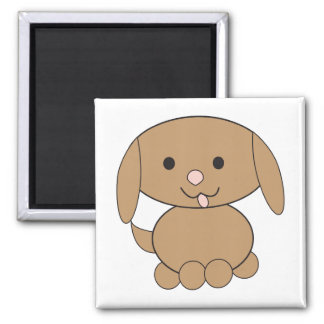 Brown Dog Cute Kawaii Magnet