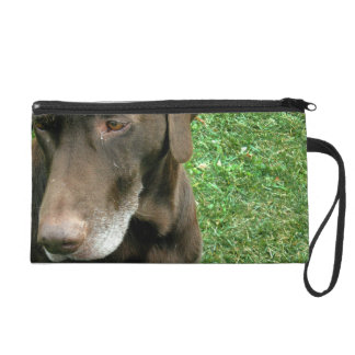 Brown Dog Wristlet