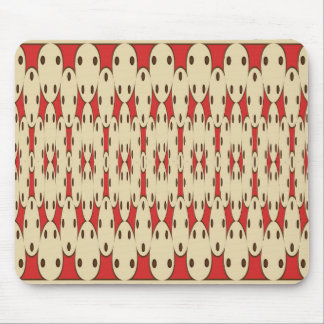 Brown dots mouse pad
