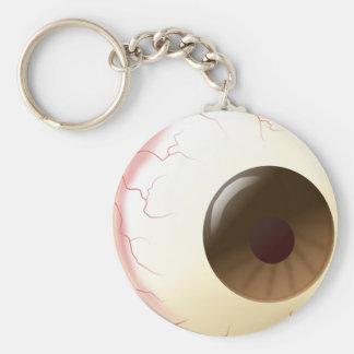 Brown Eye Ball Key Ring