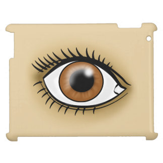 Brown Eye icon Cover For The iPad
