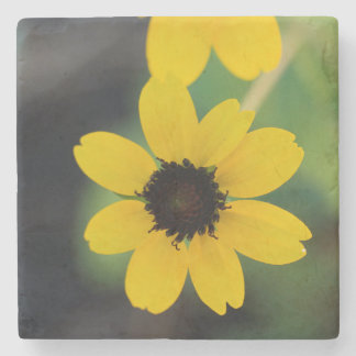 Brown-Eyed Susan Stone Coaster