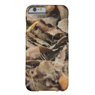 Brown fall leaves for iPhone Barely There iPhone 6 Case