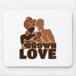 BROWN FAMILY SOLID MOUSEPAD