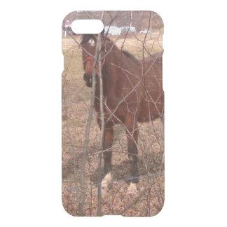 Brown Farm Horse West Virginia iPhone 7 Case