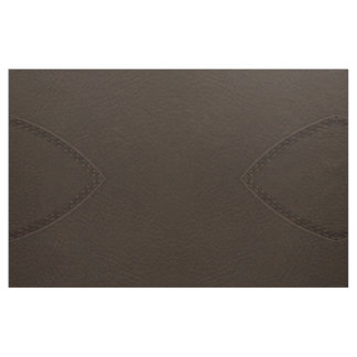 Brown Faux Leather Upholstery Fabric