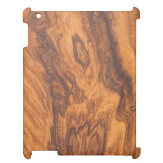 Brown Faux Wood iPad Case