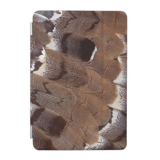 Brown Feather Design iPad Mini Cover