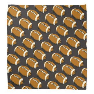 Brown Football Sports Bandana