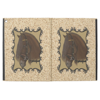 "Brown Friesian Draft Horse iPad Pro 12.9"" Case"