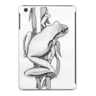 Brown Frog on Grass - Art by Skye Ryan-Evans © iPad Mini Case