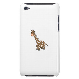 Brown giraffe iPod touch cover