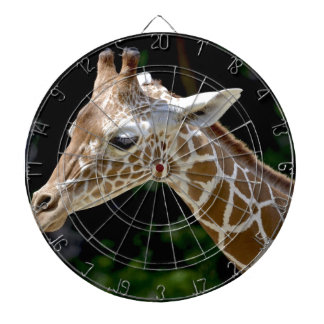 Brown Giraffe during Daytime Dartboard