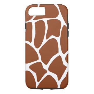 Brown Giraffe Pattern. iPhone 7 Case