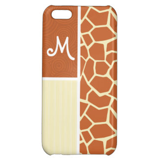 Brown Giraffe Pattern iPhone 5C Covers