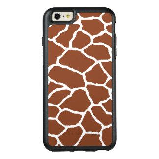 Brown Giraffe Print OtterBox iPhone 6/6s Plus OtterBox iPhone 6/6s Plus Case
