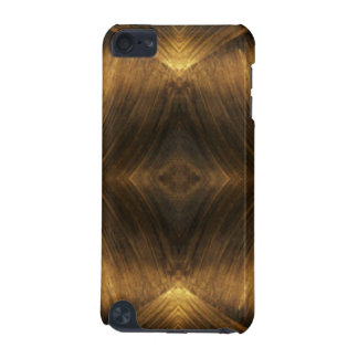 Brown Gold Abstract Pattern Print Design iPod Touch (5th Generation) Cover