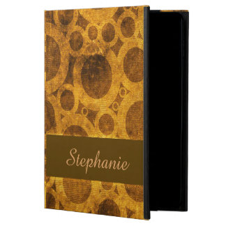 Brown Gold Steampunk Abstract iPad Air 2 Case