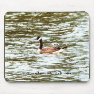Brown Goose Mouse Pad