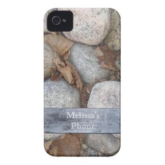 Brown Gray Blue Rock Board Blackberry Phone Case