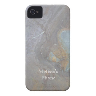 Brown Gray Teal Cool Rock Blackberry Phone Case