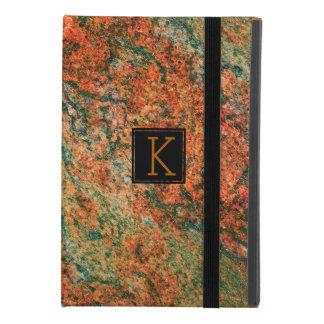 Brown & Green Marble Stone iPad Mini 4 Case