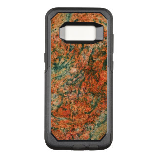 Brown & Green Natural Marble Texture OtterBox Commuter Samsung Galaxy S8 Case