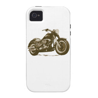 Brown Harley Motorcycle iPhone 4/4S Cover