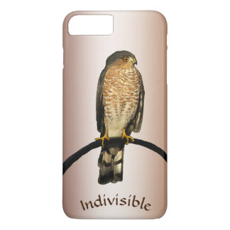 Brown Hawk Indivisible iPhone 7 Plus Case