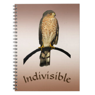 Brown Hawk Indivisible Notebook