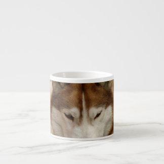 Brown Husky Specialty Mug Espresso Mugs