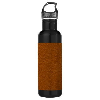 BROWN LEATHER 710 ML WATER BOTTLE