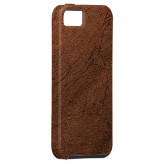 Brown Leather-Like iPhone 5 Case