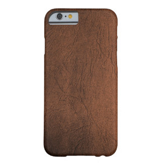 Brown Leather-Like iPhone 6 case