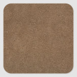 Brown leather stickers