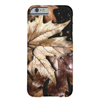 Brown Leaves iPhone 6/6s Case