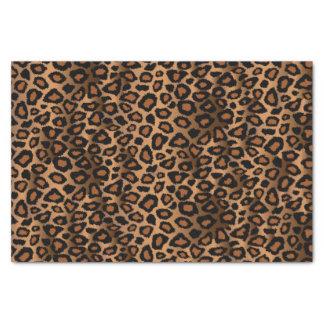 Brown Leopard Design Pattern Tissue Paper